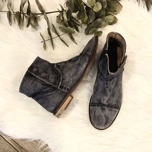 Free People Ankle Boots Leather Booties